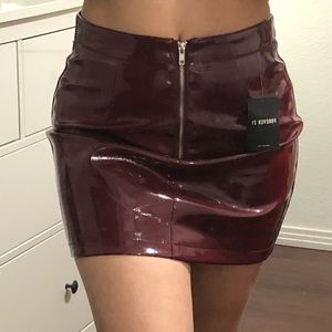 Leather Mini Skirt🚫SOLD🚫